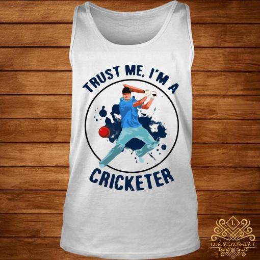 Trust Me I'm A Cricketer Shirt tank-top