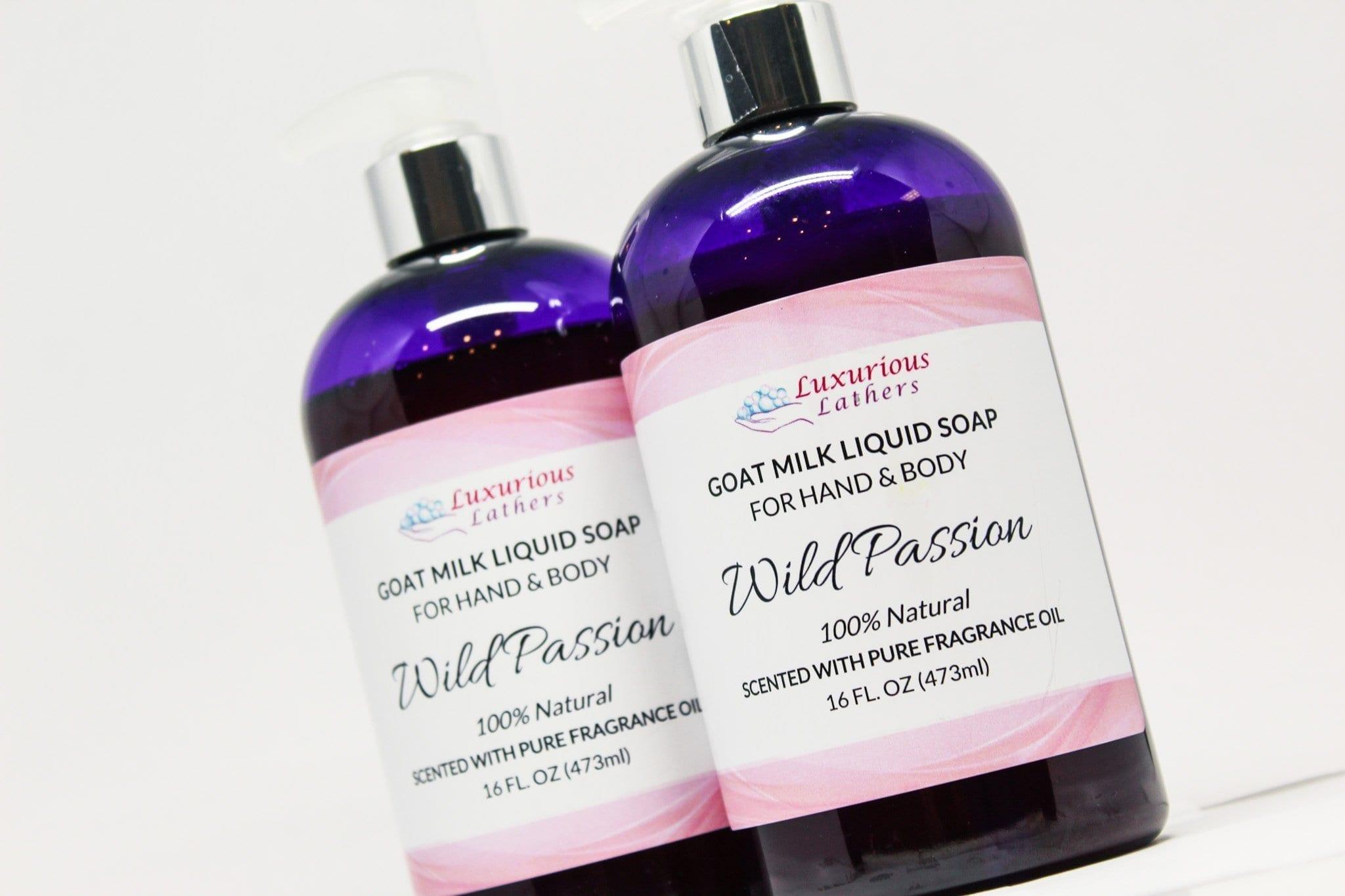Wild Passion Goat Milk Liquid Soap