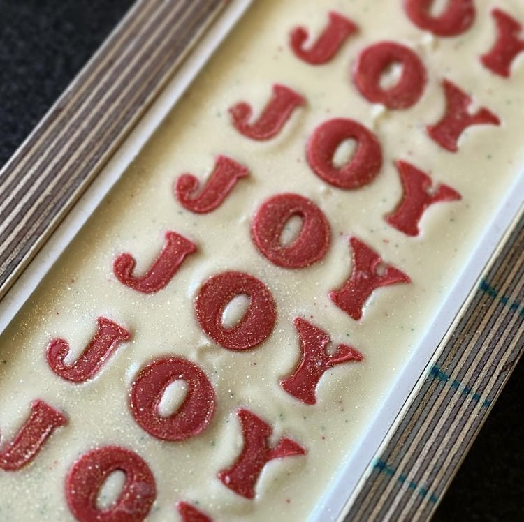 Christmas Joy! Designer Soap