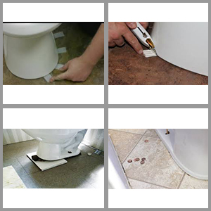 How to shim a toilet