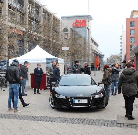 Audi R8 Madgeburg