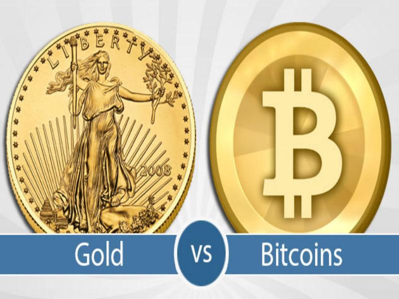 Gold VS Bitcoin Showdown