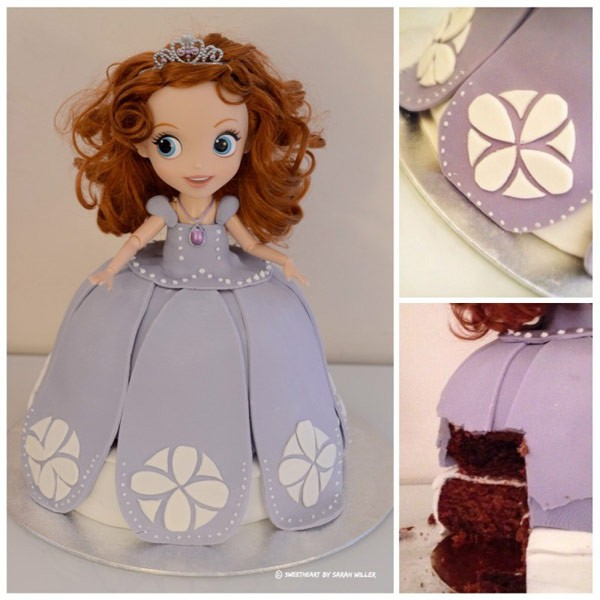 Marzipan-Birthday-Cake-SweetHeart-by-Sarah-Willer-princess