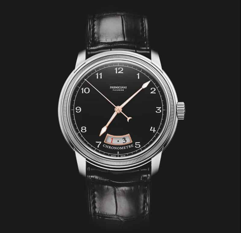 Parmigiani-Fleurier-Toric-Chronometre-black-dial-white-gold