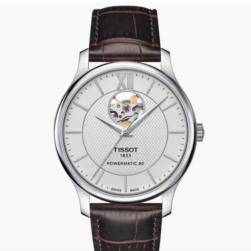 Tissot-Mechanical-Open-heart-powermatic-80