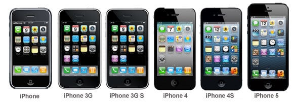 all-iphone-generations