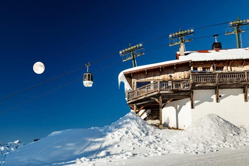 christmas-ski-trip-france-megeve-upper-cable-lift-station