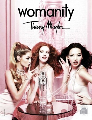 thierry mugler womanity new campaign 2011