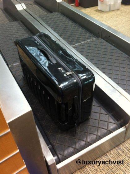Victorinox Spectra in Shanghai Airport checkin