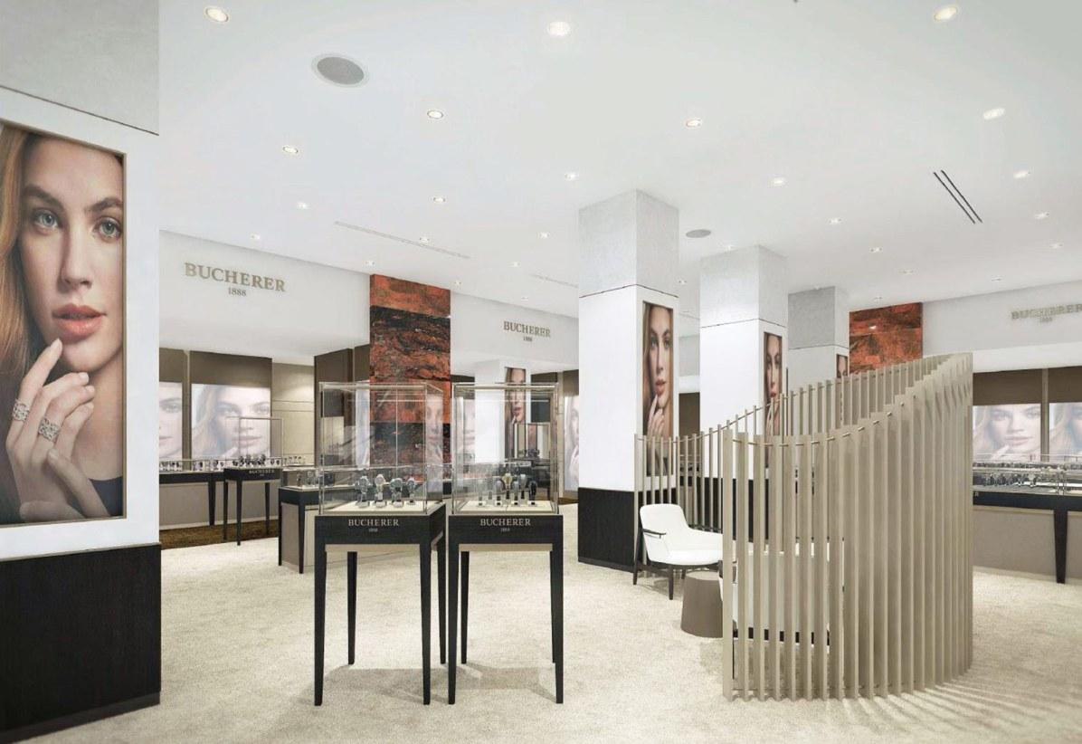 Her kan man snart shoppe ure og smykker fra Rolex, Cartier, Chopard, Gucci, Georg Jensen, Baume & Mercier, TAG Heuer.