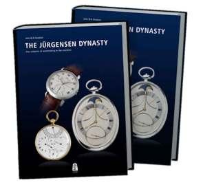 Den danske urentusiast John Knudsen har udgivet et omfangsrigt værk om Jürgensen-dynastiet, og bogen er senest udkommet på engelsk. Titlen er 'The Jürgensen Dynasty', og bogen kan bestilles på nettet. De 368 sider byder på ikke færre end 560 fotos, og prisen for den unikke entusiastbog ligger på ca. 1.500 kr.