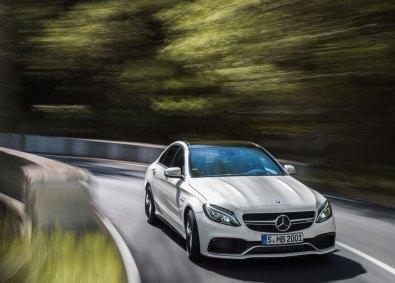 I standardversionen yder Mercedes-AMG C 63 pæne 473 hestekræfter. Vi prøvekørte imidlertid S-versionen, som leverer hele 510 heste.