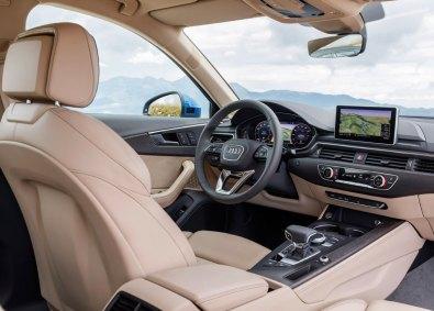 Særligt i kabinen bliver du forkælet. A4 har adopteret flere af elementerne fra mærkets luksusmodeller – eksempelvis den karakteristiske gearvælger, som giver associationer til en flyvemaskine.