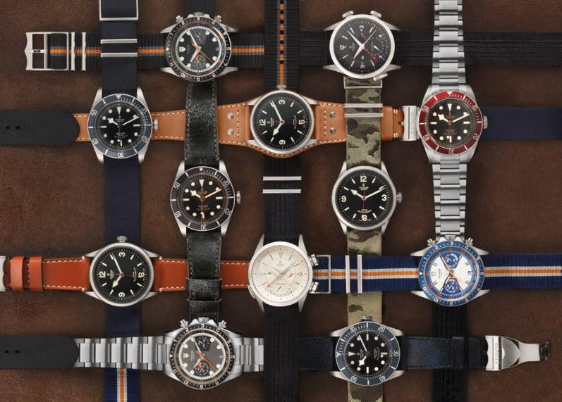 Tudor tilbyder en utrolig alsidig og spændende kollektion af både nye design og retroinspirerede modeller.