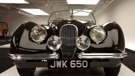 The 1950 Jaguar XK120