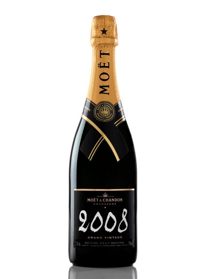 Moët & Chandon Grand Vintage 2008, 499 kr., fås hos et bredt udvalg af forhandlere