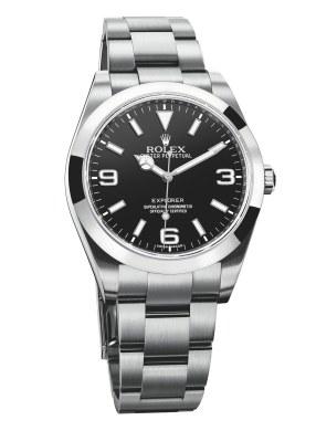 Rolex Explorer, ca. 46.100 kr.
