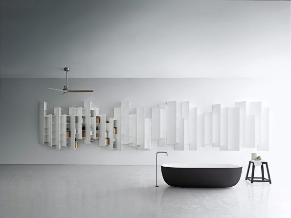 Med det eksklusive skalformede badekar Iceland har Piero Lissoni skabt endnu et moderne og elegant mesterværk for Boffi.
