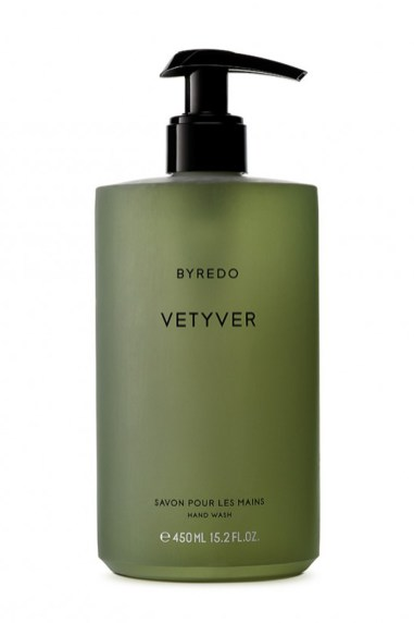 Byredo Vetyver-håndsæbe, 450 ml, 299 kr.