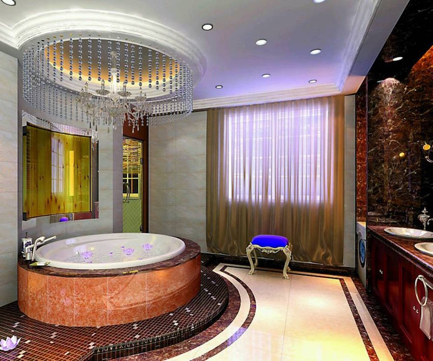 50 Magnificent Luxury Master Bathroom Ideas (part 3