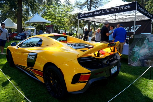 Area 27 McLaren at the Luxury Supercar Weekend Vancouver