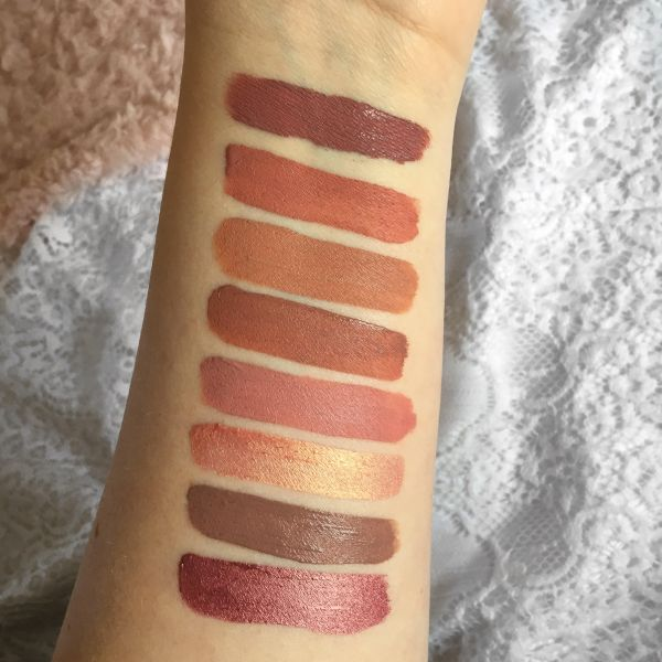 Jouer Best of Nudes Lip Créme Collection | Swatches