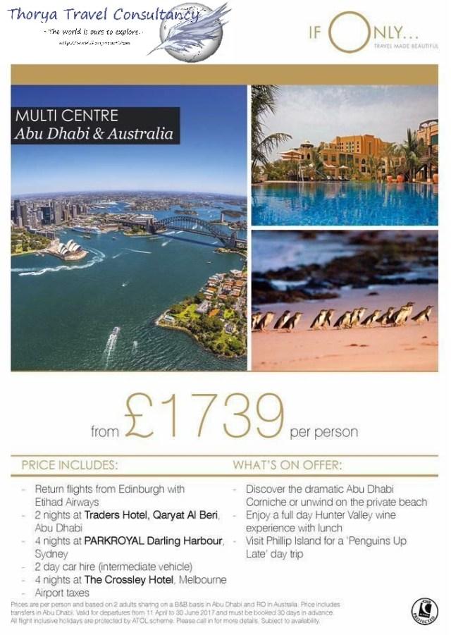 Twin centre Dubai Australia