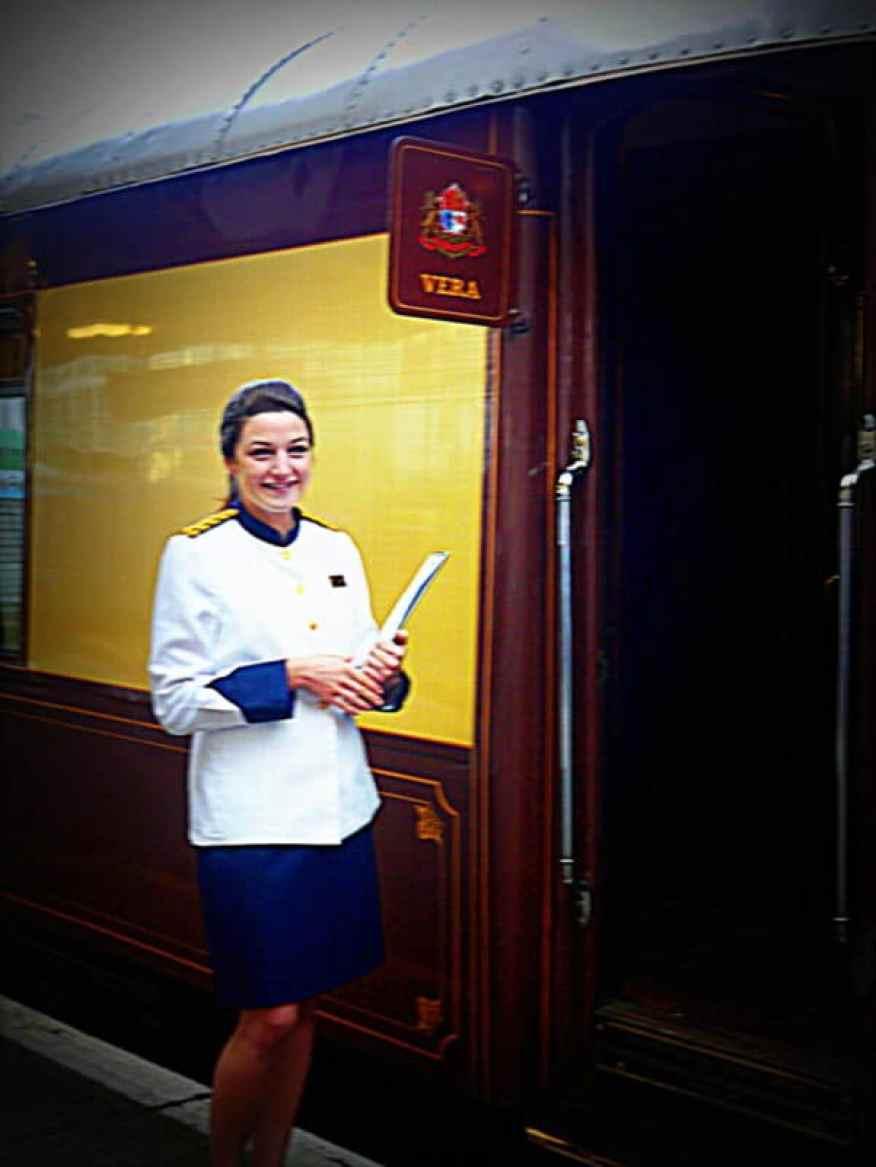 British Pullman welcome onboard - Luxury Columnist