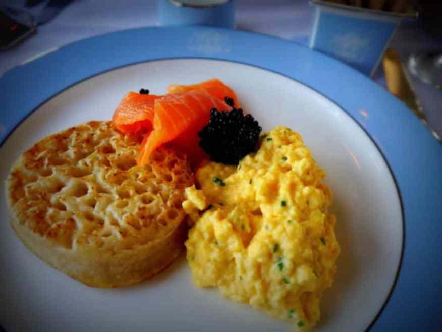 Cooked breakfast - Luxury Columnist