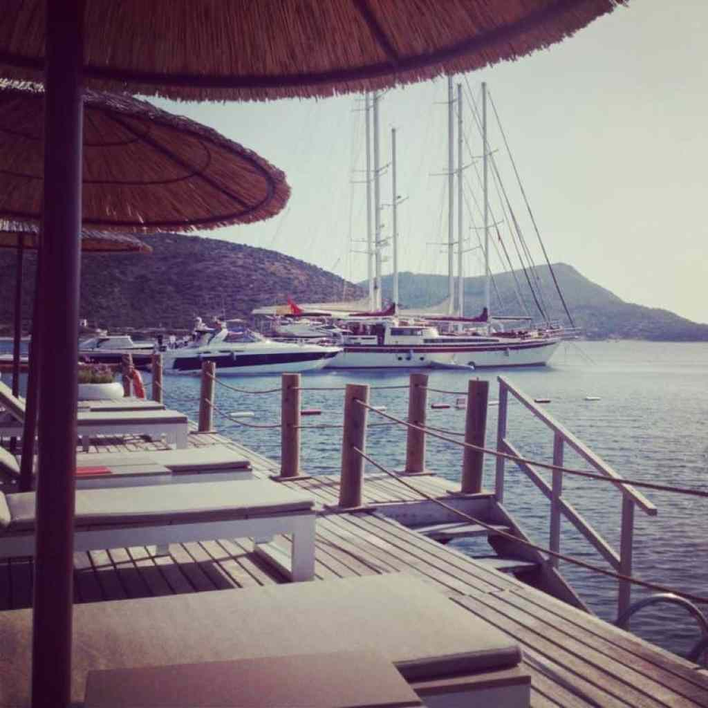 Kempinski Barbaros Bay sun deck - www.luxurycolumnist.com