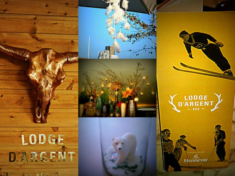 Lodge d'Argent Pop Up at Coq d'Argent