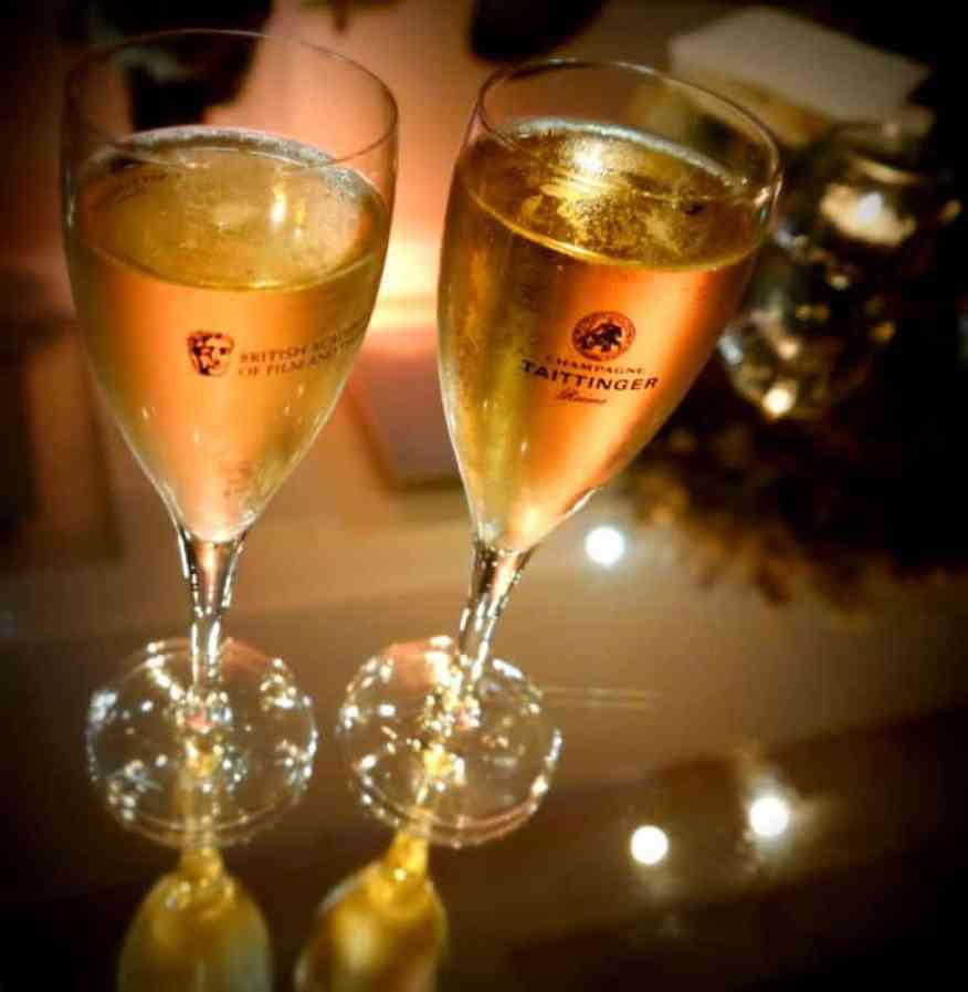 BAFTA champagne - Luxury Columnist