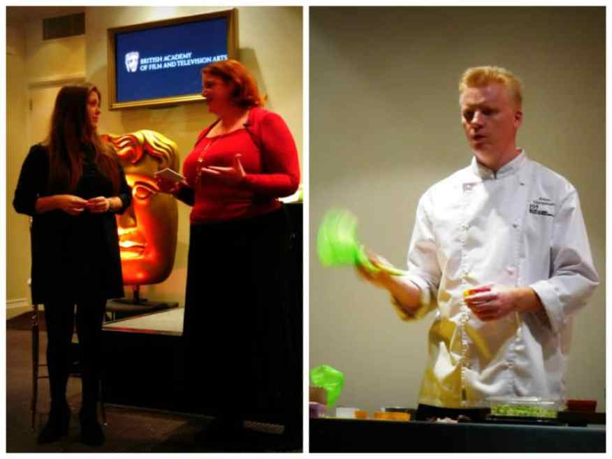 Speakers at BAFTA Delicious event