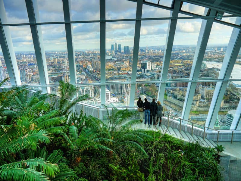 Visiting the Sky Garden – A Fantastic London Landmark