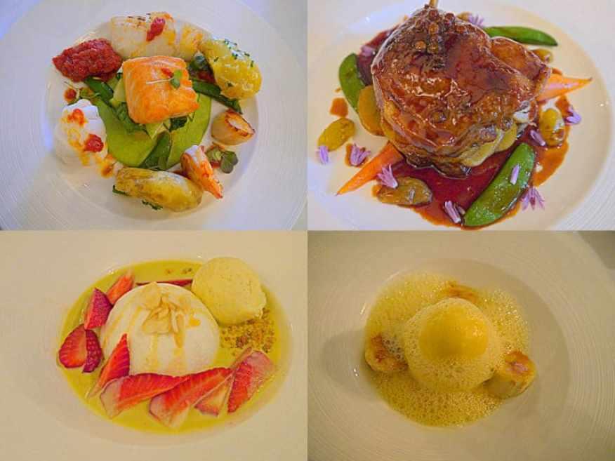 Longuville Manor food