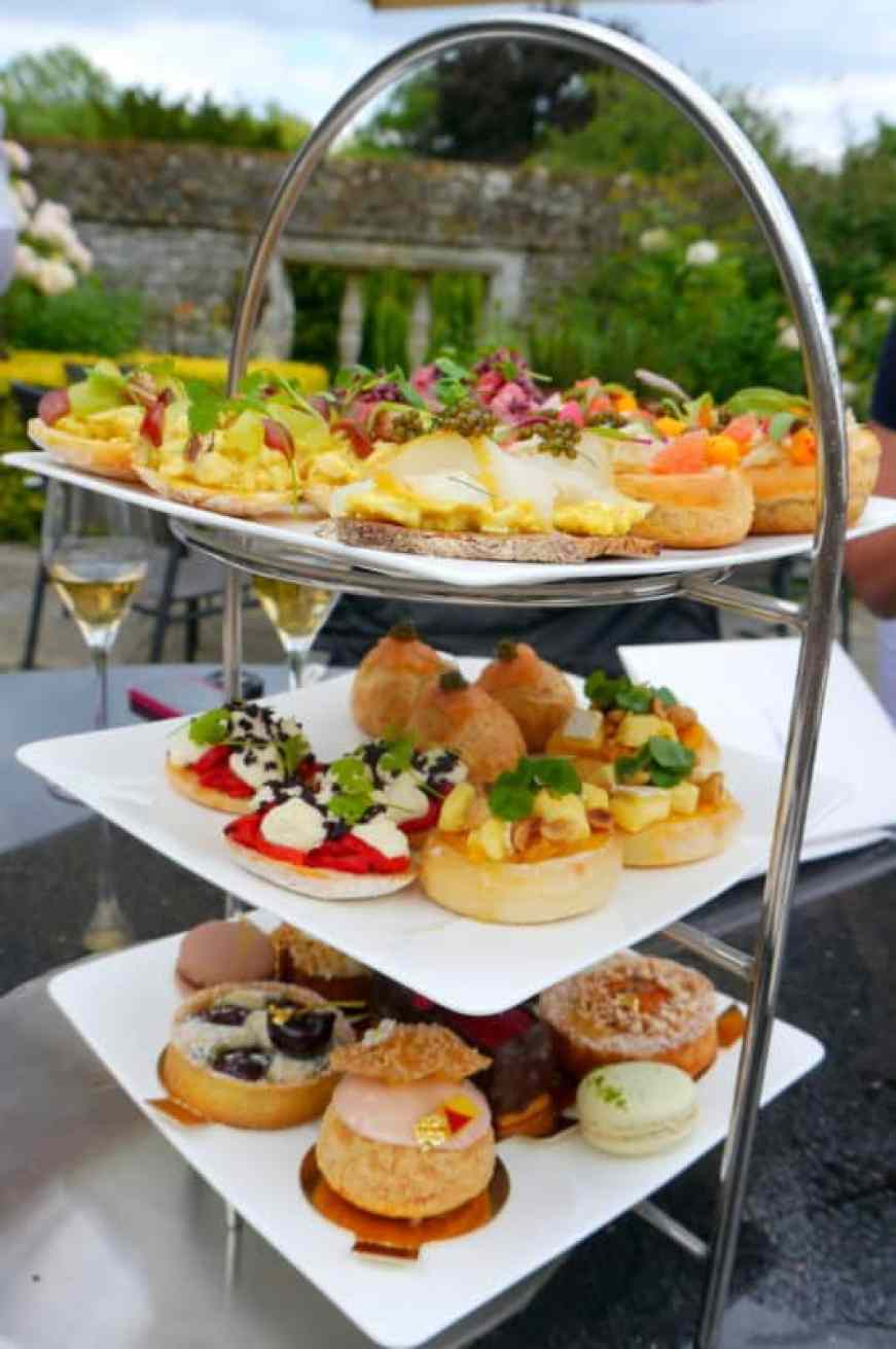 Le Manoir afternoon tea