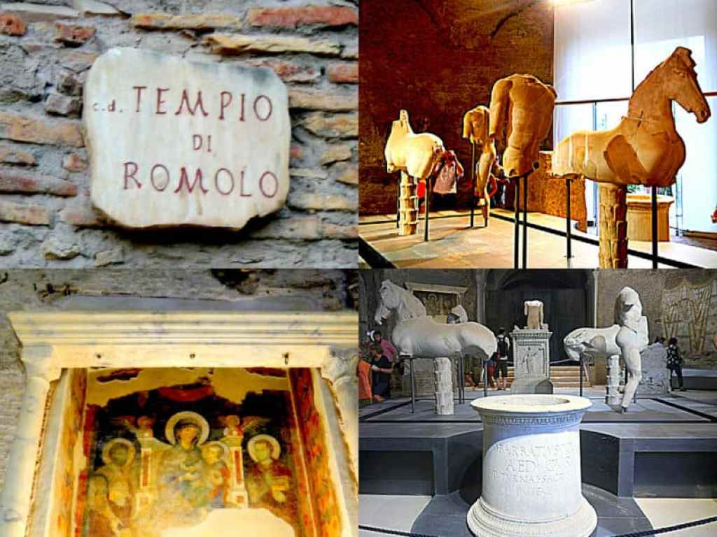 Romulus Temple Rome