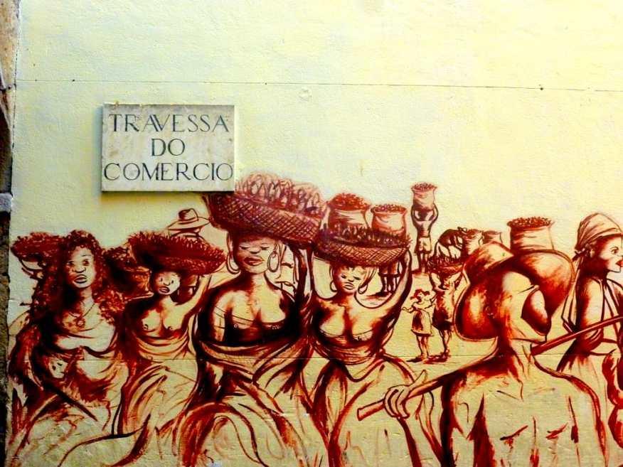 Rio historical centre mural