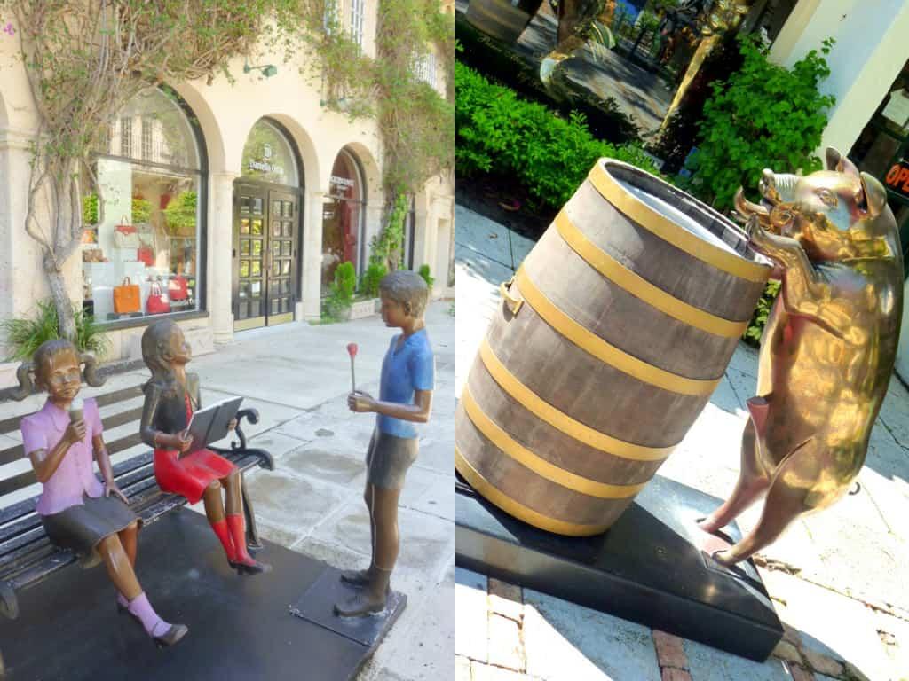 Palm Beach sculptures