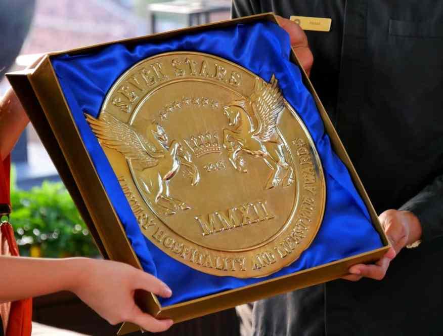 Seven Star Awards winner