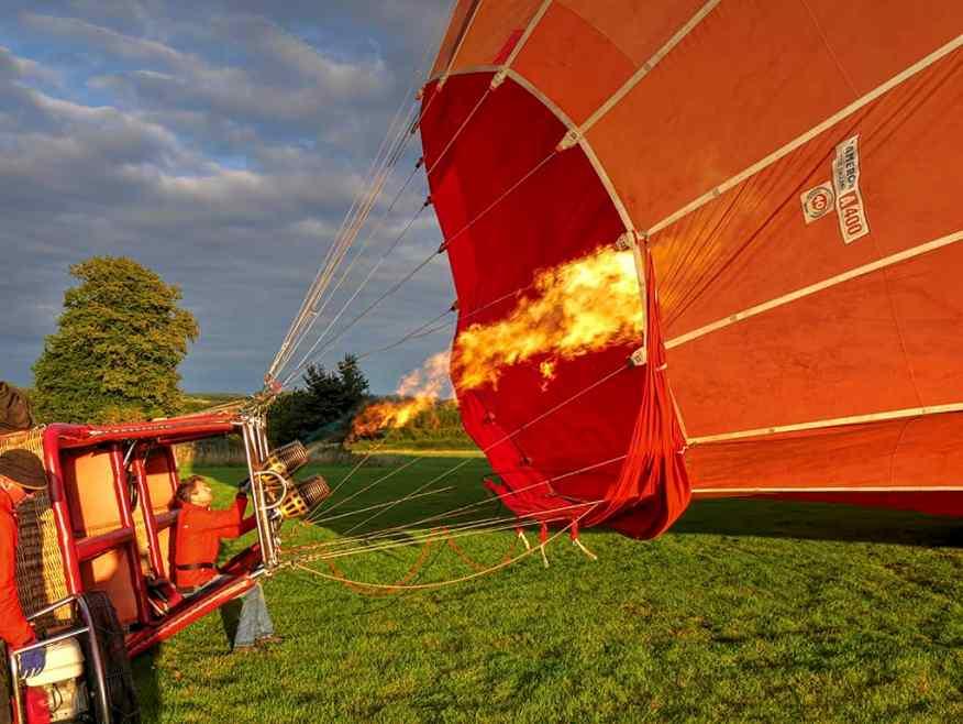 Virgin Balloon ride Henley