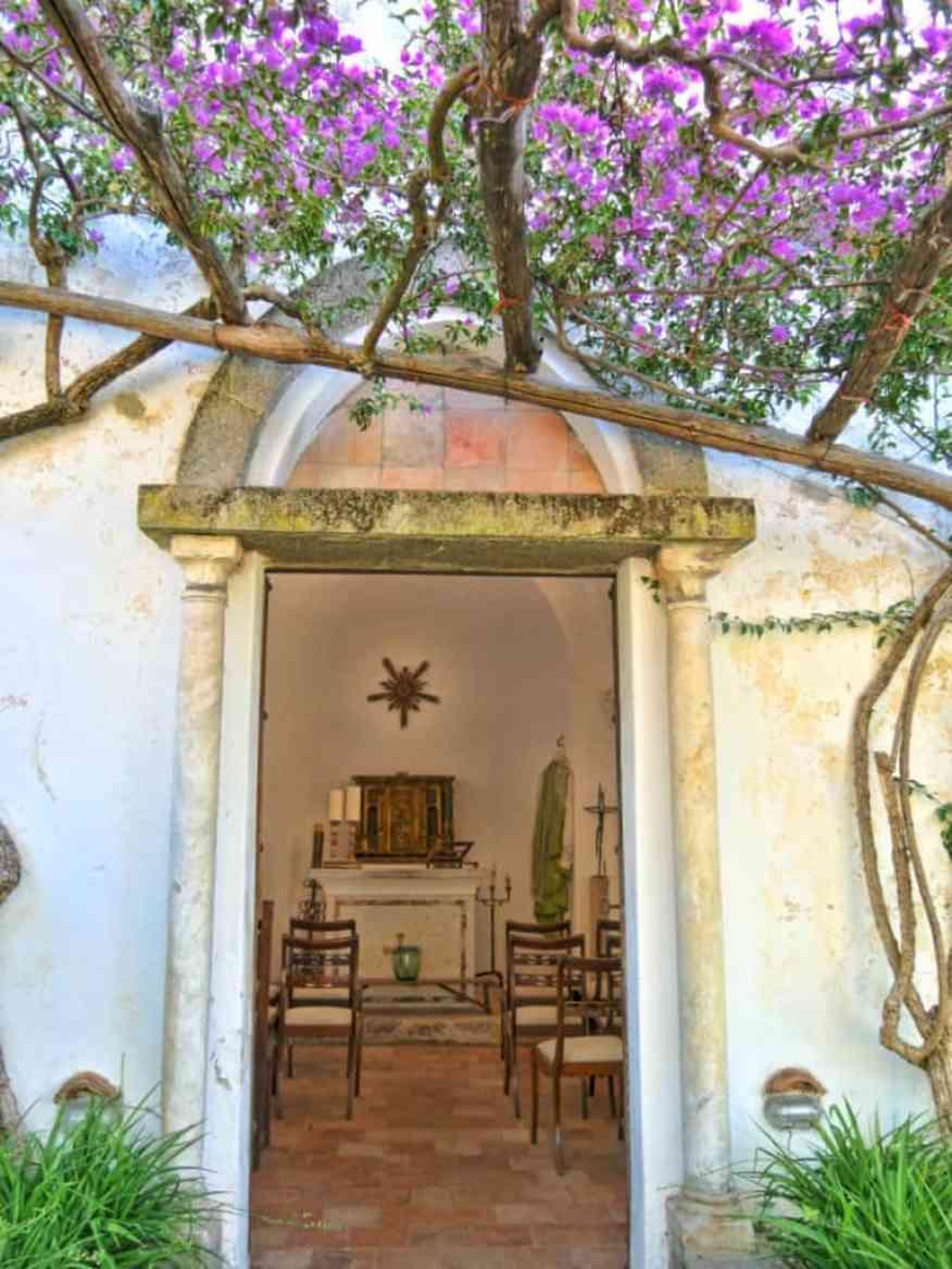 Casa L'Amalfi chapel