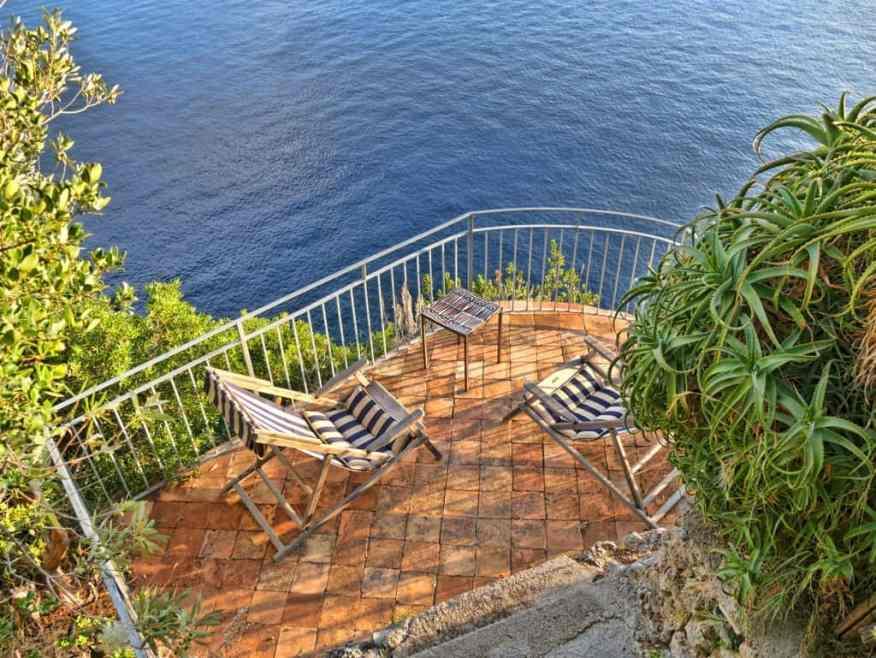 La Torre private terrace