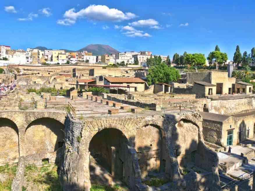 Herculaneum site Italy