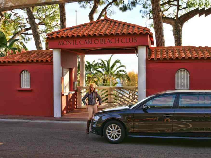 Auto Europe car Monte Carlo Beach Club
