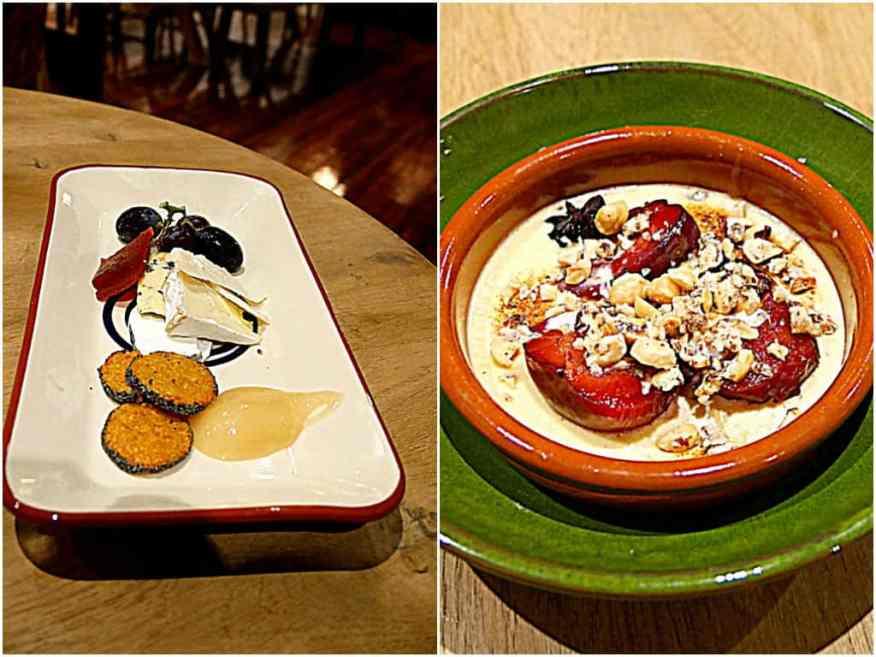 Burley Manor desserts