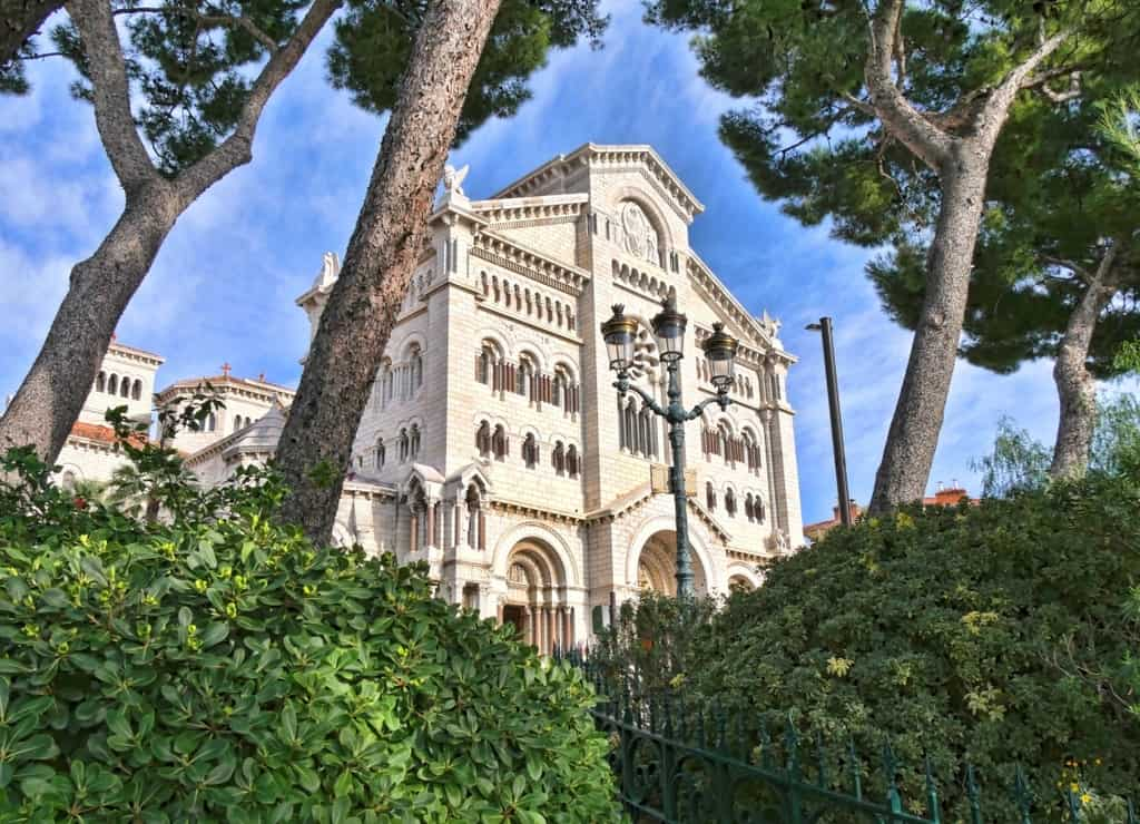 Monaco Cathedral view