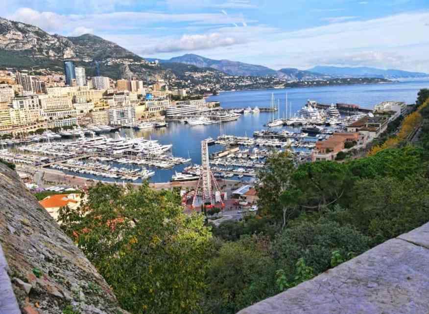 Monaco harbour view