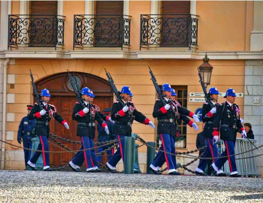 Montecarlo changing of the guard