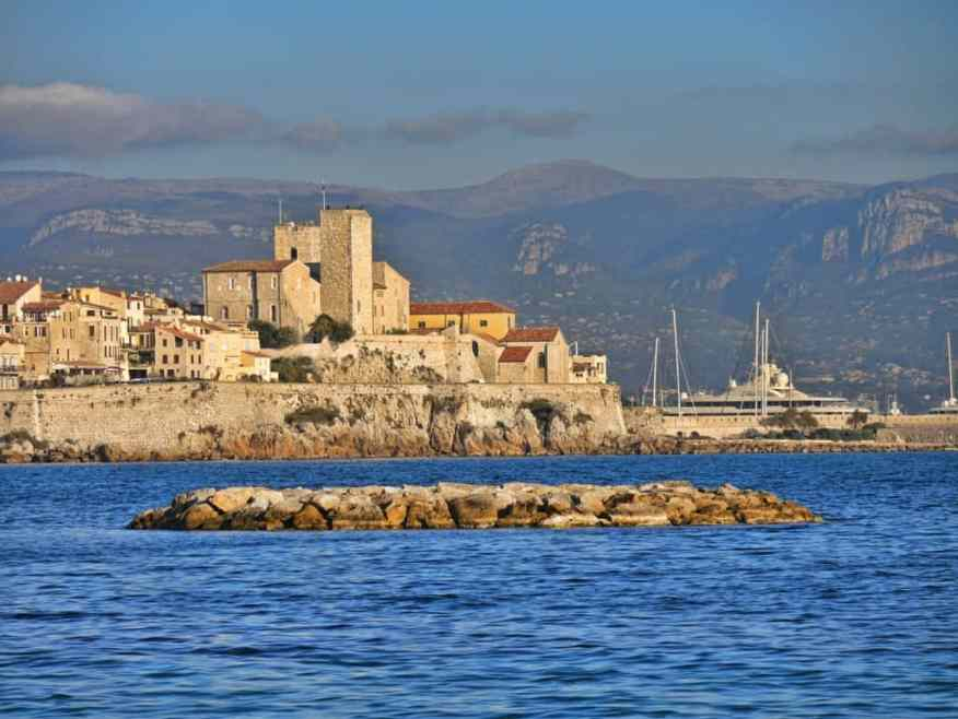 Antibes Castle view